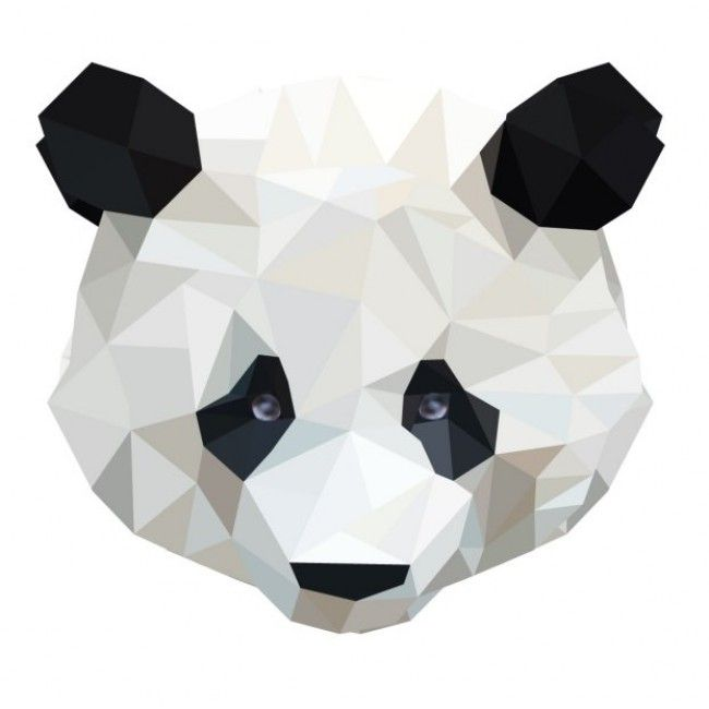 Studio Bluebird Panda - muursticker