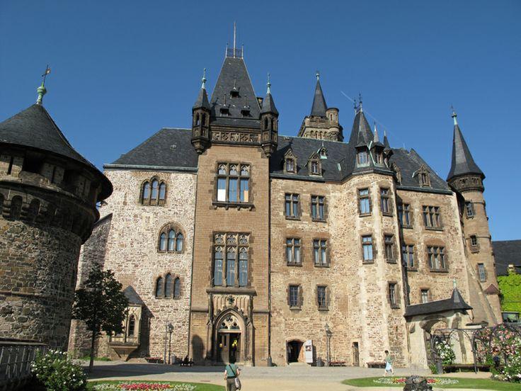 Schloss Wernigerode - Schlossterrasse. www.schloss-wernigerode.de