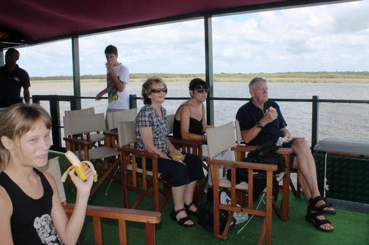 Leisurely cruise on St Lucia estuary with Nandi Barge