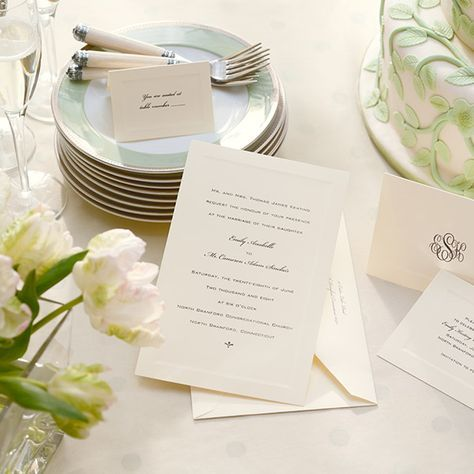 Learn the proper etiquette for addressing wedding invitations, announcements and thank-you notes based on title, marital status and more.