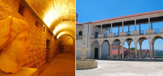 From Lisbon to Coimbra: 10 Reasons to Go - via Lisbon Lux Magazine #Portugal Photo: Museu Machado de Castro, Coimbra