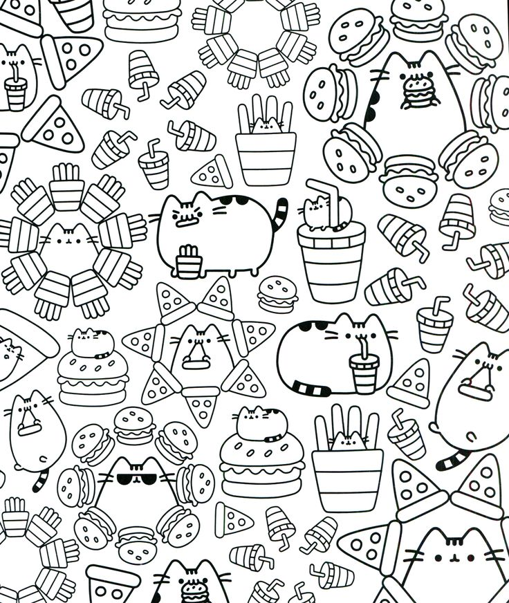27++ Christmas coloring pages pusheen ideas