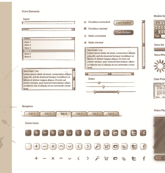 Sqetch, an Illustrator Wireframe Toolkit | UICloud