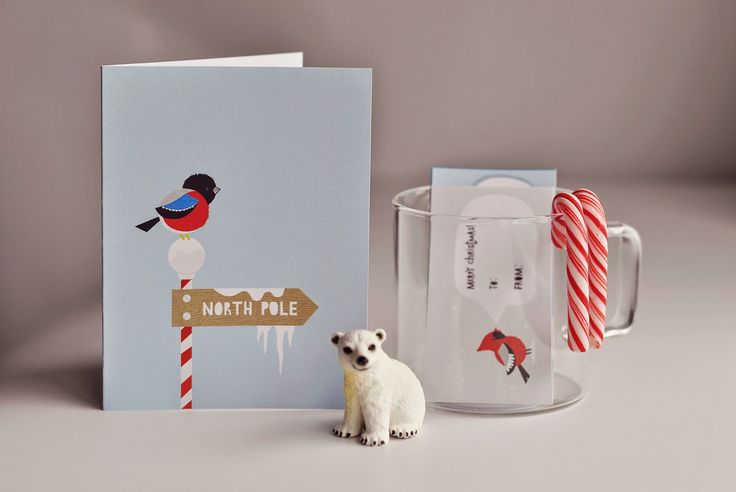 Christmas cards from malinka illustrations!
