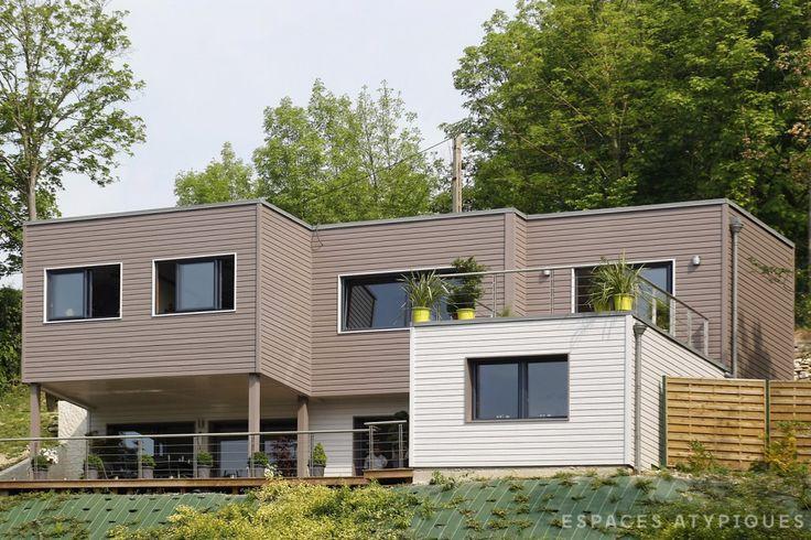 13 best Eco House Portugal - Community Project images on Pinterest - Maison Toit Plat Prix Au M