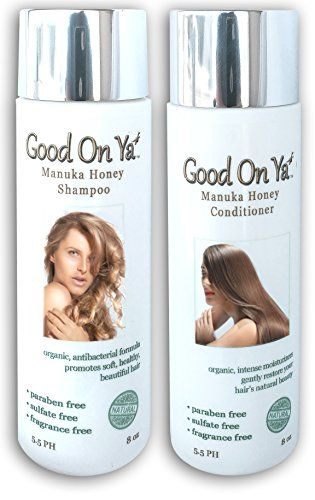 awesome Hair Loss Prevention Shampoo and Conditioner Set -Keratin Safe - Sulfate Free with Manuka Honey - Safe for Color Treated Hair - Prevent Hair Loss and Helps Grow Hair Naturally - Natural & Organic Ingredients - Relieves Damaged Scalp, Dandruff, Itchy Scalp, Psoriasis, Seborrheic Dermatitis - For All Hair Types - Best Hair Products Money Can Buy -8oz Bottles