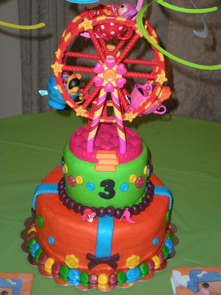 Lalaloopsy Ferris Wheel Cake My Cakes Pinterest