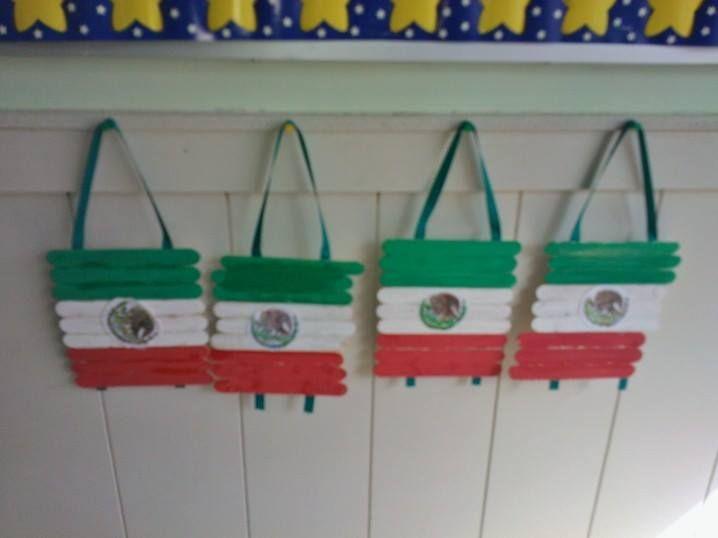 Bandera Mexicana....actividad para festejar el dìa de la independencia de…