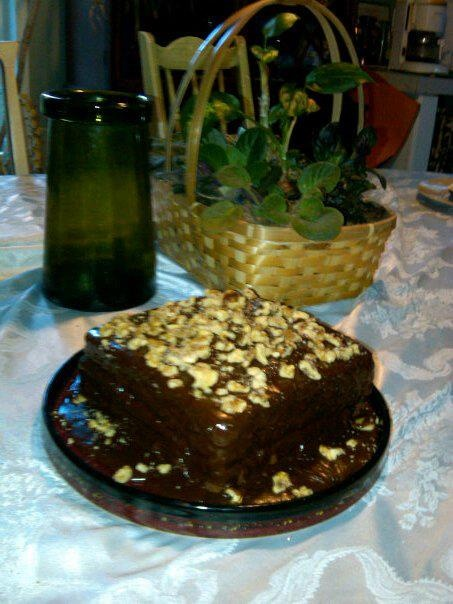 Southern Style Coca Cola-Cake.
