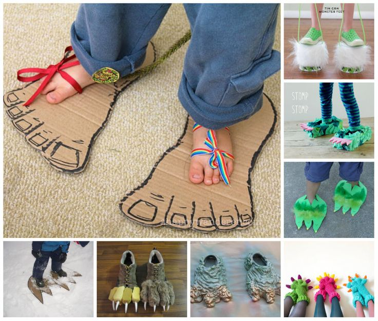 8 Cute Monster Feet Ideas