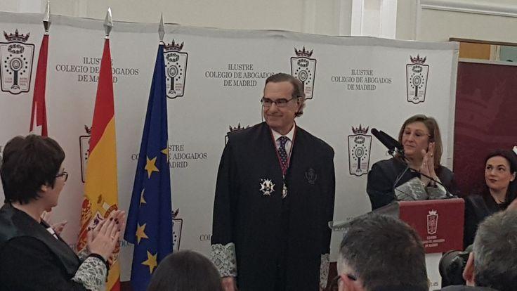 José María Alonso toma posesión como decano del Ilustre Colegio de Abogados de Madrid ICAM