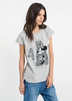 Camiseta disney - Camisetas y tops de Mujer | MNG