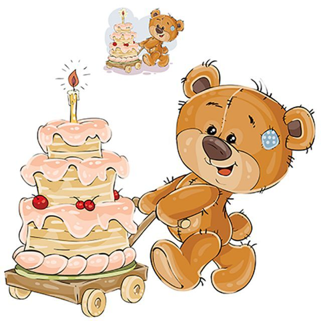 Vector Illustration Of A Brown Teddy Bear Rolling A Cart With A Teddy Clipart Bear Teddy Png And Vector With Transparent Background For Free Download Tatty Teddy Ilustracoes Vetoriais Ursinho Teddy