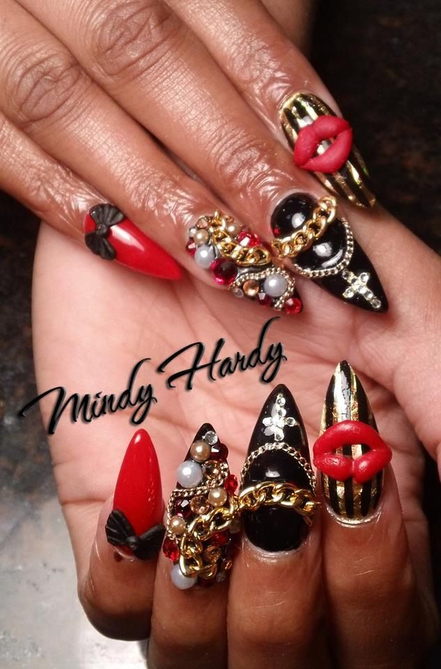 29 best NAIL QUEEN MINDY HARDY. images on Pinterest   Queen, Show ...