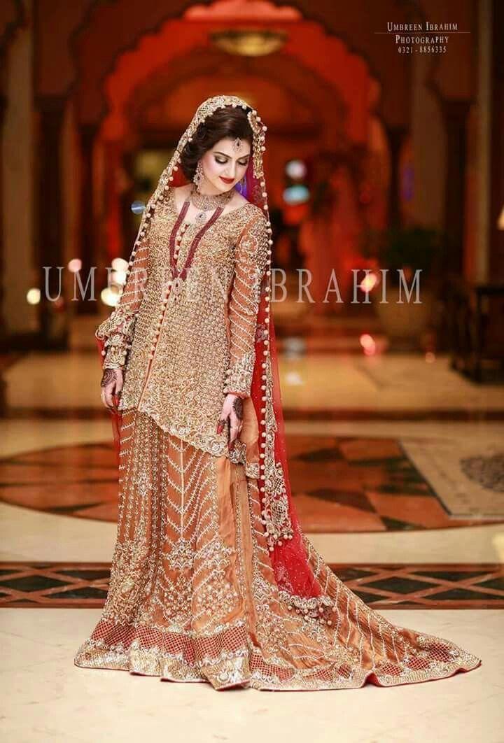 Pakistani bride pictures bridal dress