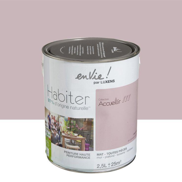 53 best images about home suite parentale on pinterest for Rose poudre peinture