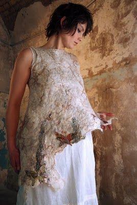 Feutre Art Textile: Portrait de Nathalie Banos