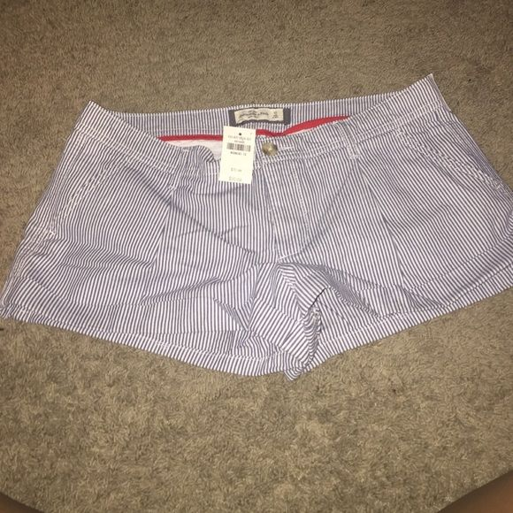 ❤️SALE❤️ Adorable Abercrombie and Fitch shorts NWT These are darling!! Abercrombie & Fitch Shorts
