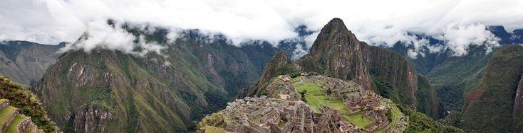 Ciudad Inca de Machu Picchu (Perú).  Esta ciudad es impresionante, una de las 7 maravillas modernas y no sabría decir si por la perfecta conservación de la ciudad o por la magnífica ubicación de la misma.