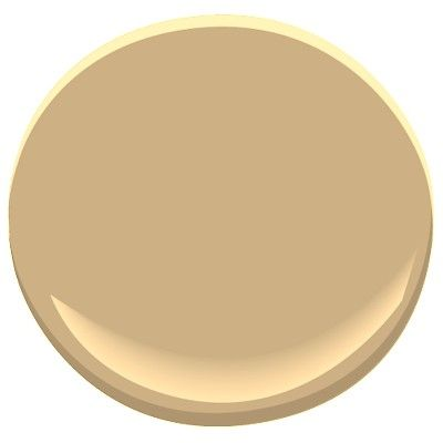 Benjamin Moore Wilmington Tan, very flexible, warm, rich shade verging on a creamy caramel, nice in a north facing room