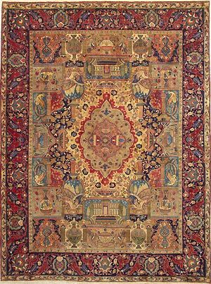 Antique Persian Rug... WANT.