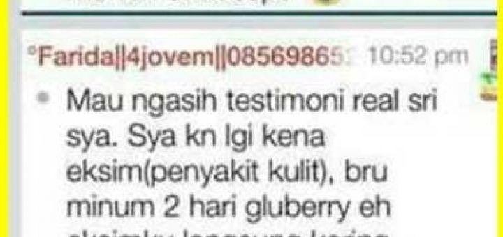 Testimoni Jovem Gluberry Mengatasi Eksim Secara Cepat Dan Alami