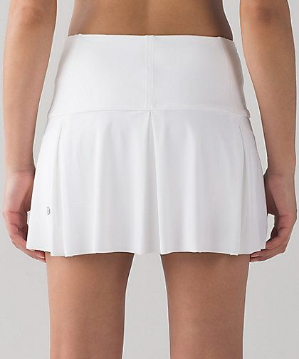 Lululemon Lost In Pace Skirt  Regular & Tall Color:  White  Size:  2-12 Price:  68.00 Released:  2017