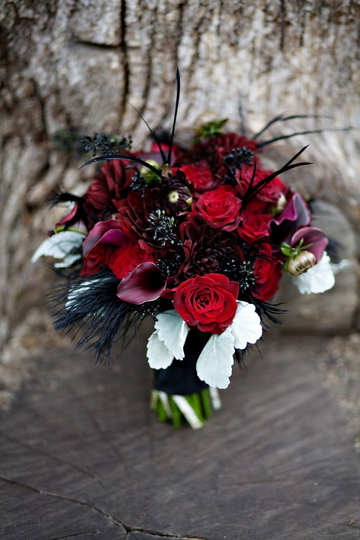 96 best purple red wedding images on pinterest red wedding red not your typical red rose bouquet izmirmasajfo Choice Image