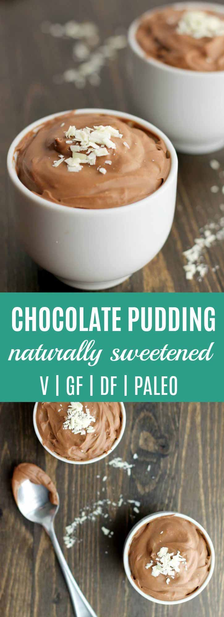 Chocolate Pudding Recipe {Vegan, Coconut Milk, Paleo} | So easy to make, naturally sweetened, no eggs, & thickened with Paleo friendly arrowroot powder. Kids LOVE it!! | thenourishedfamily.com