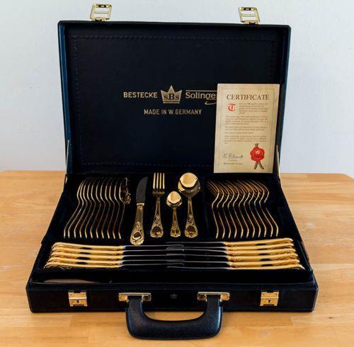 Bestecke-Solingen-24-Karat-gold-plated-70-Piece-flatware-and-serving-set-with-ce