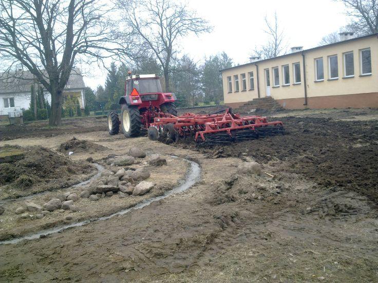 Przygotowanie terenu pod ogród