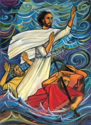 Jesus calms the storms of our lives
