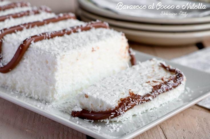 Bavarese+al+Cocco+e+Nutella