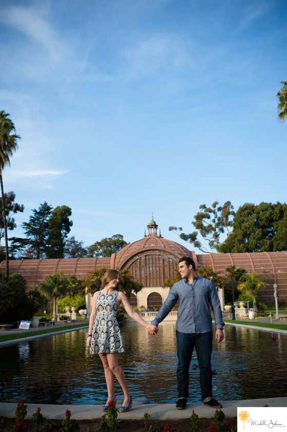 Balboa Park Engagement Pictures san diego engagemnt photographer