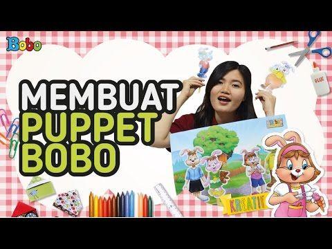 KREATIF - Tutorial Cara Membuat Puppet Bobo - DIY - Prakarya