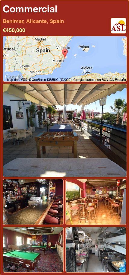 Commercial in Benimar, Alicante, Spain ►€450,000 #PropertyForSaleInSpain