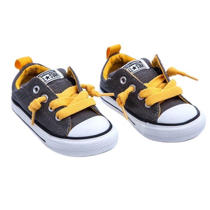 Βρεφικά παπούτσια Chuck Taylor γκρι - CONVERSE (1321176) | Factory Outlet