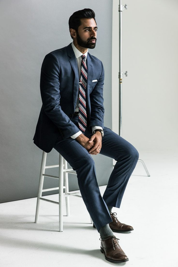 Hasan Minhaj - handsome, funny, smart fashionable. That's ticking a lot of boxes.