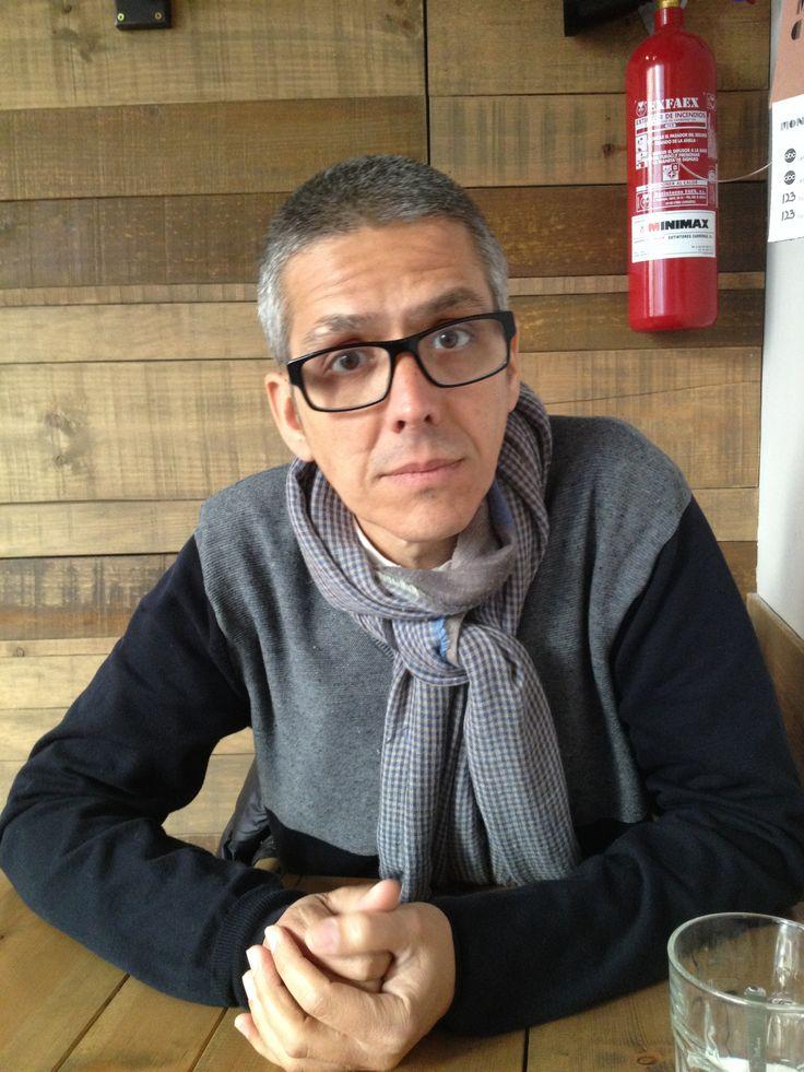 El famoso Rafa Mancini, fantastico comunicador y amable acompañante para desayunar