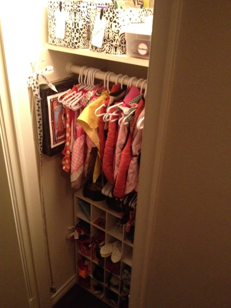 Ok they are spoiled now, they have their own dog closet!!!!!
