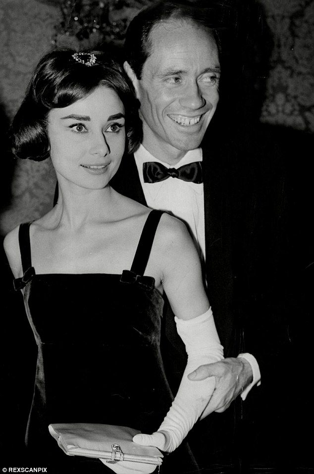 Star lineage: The aspiring model's grandparents were Audrey Hepburn and her…