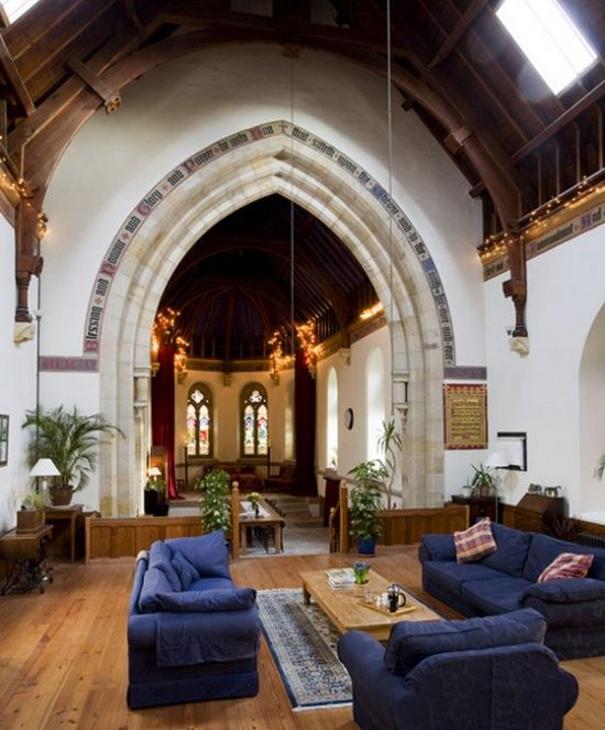 66 best my dream home (converted church) images on Pinterest ...