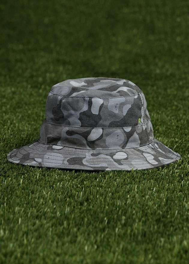 134fd4a629 Grey came boonie hat