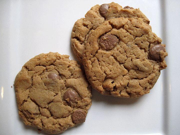 Peanut Butter & Milk Chocolate Chip Cookies