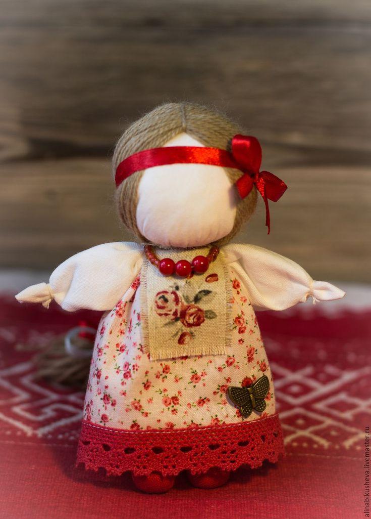 "Купить Кукла-оберег ""Долюшка"" - кукла-оберег, славянская кукла, тряпичная кукла, русская кукла"