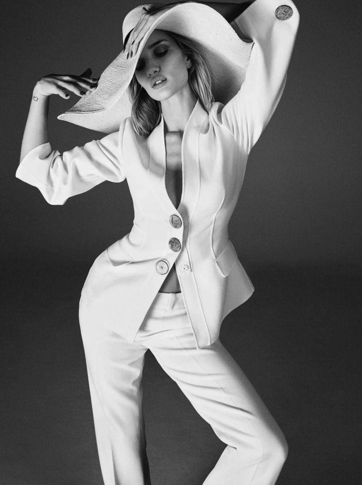 Rosie Huntington Whiteley by Kai Z Feng for Elle UK February 2015