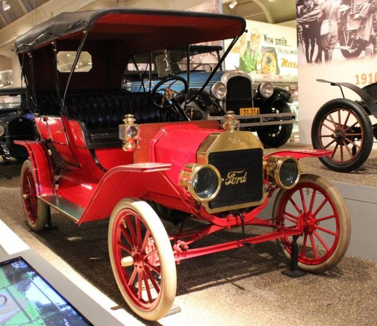 118 best Vintage Ford s images on Pinterest   Old school cars     1909 Ford Model T Touring Car