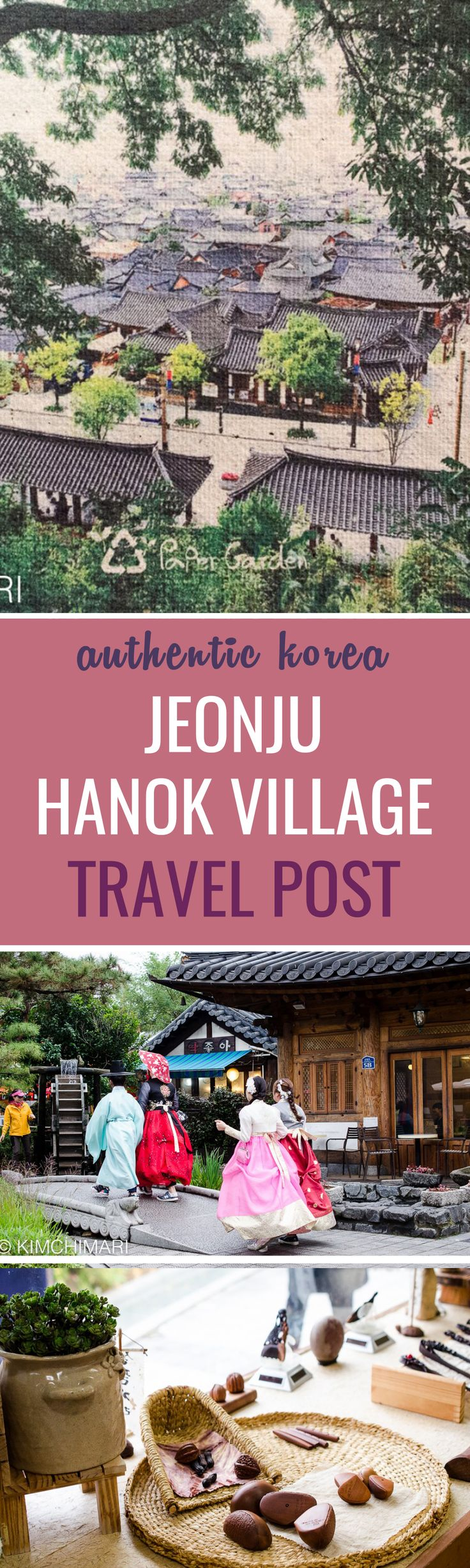 Jeonju, Korea is the capital city of North Jeolla Province. Jeolla province has history dating back to pre-historic times but Jeonju came to existence as a city in 900 AD as part of Later Baekjae era.