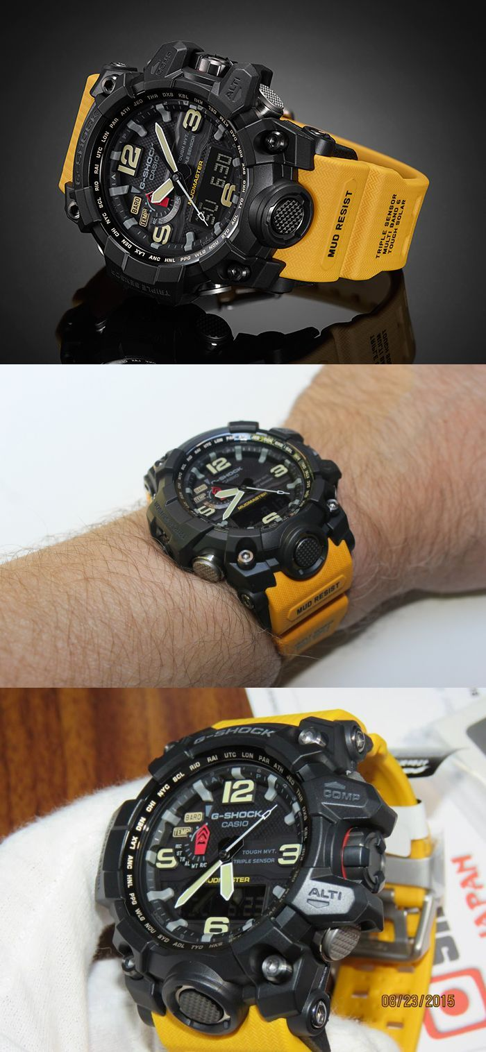 2016 CASIO G-SHOCK MUDMASTER GWG-1000-1A9JF http://www.slideshare.net/leatherjackets/best-watches-reviews-2014-casio-gshock-black-watches-for-men