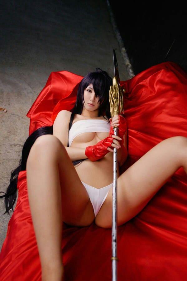 Uncensored ikki tousen kanu cosplay